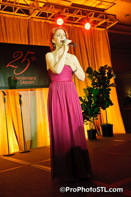 Stages St. Louis Theatre 25th anniversary gala at Ritz Carlton in St. Louis, MO on Nov 11, 2011.