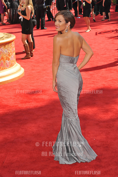 Catt Sadler at the 61st Primetime Emmy Awards at the Nokia Theatre L.A. Live..September 20, 2009  Los Angeles, CA.Picture: Paul Smith / Featureflash