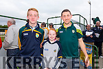 Daniel Mahony and Maria Savage with John' Tweek' Griffin at the Kerry GAA Night at Dogs Race of Champions at the Kingdom Greyhound Stadium on Friday