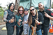 Sep 24, 2011: FIVE FINGER DEATH PUNCH - Photosession in Irvine CA USA
