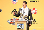 13 January 2011: Philadelphia Union selected Michael Farfan with the #23 overall pick. The 2011 MLS SuperDraft was held in the Ballroom at Baltimore Convention Center in Baltimore, MD during the NSCAA Annual Convention.