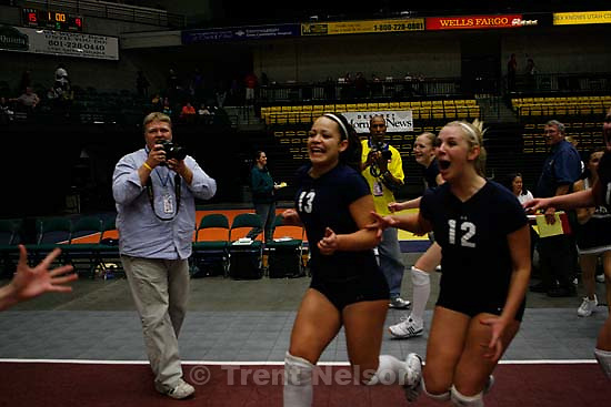 jason olson Orem - Snow Canyon vs. Dixie for the 3A State Championship in girls high school volleyball.&amp;#xA;; 10.28.2006<br />