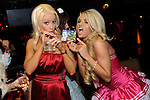 "Holly Madison and Angelica ""Angel"" Perrino at TAO nightclub, Las Vegas, May 6, 2010  © Al Powers / RETNA ltd"