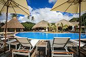 Hôtel Tiéti Tera Beach Resort, Poindimié, province Nord, Nouvelle-Calédonie