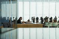 """Bundesinnenminister Horst Seehofer (CSU) und  der Praesident des Bundesamt fuer Verfassungsschutz (BfV), Hans-Georg Maassen stellten am Dienstag den 24. Juli 2018 in Berlin den """"Verfassungsschutzbericht 2017"""" vor.<br /> In dem Bericht werden die Erkenntnisse des BfV zu """"verfassungsfeindlichen Bestrebungen"""" zusammenfasst. Dazu gehoeren Zahlen zur """"Politisch Motivierten Kriminalitaet"""", wie zum Beispiel rechtsextremistische Straftaten. Enthalten sind auch Statistiken und Analysen zu Gruppen, die als militant islamistisch eingestuft werden. Der Termin wurde mehrfach verschoben.<br /> Im Bild: Hans-Georg Maassen.<br /> 24.7.2018, Berlin<br /> Copyright: Christian-Ditsch.de<br /> [Inhaltsveraendernde Manipulation des Fotos nur nach ausdruecklicher Genehmigung des Fotografen. Vereinbarungen ueber Abtretung von Persoenlichkeitsrechten/Model Release der abgebildeten Person/Personen liegen nicht vor. NO MODEL RELEASE! Nur fuer Redaktionelle Zwecke. Don't publish without copyright Christian-Ditsch.de, Veroeffentlichung nur mit Fotografennennung, sowie gegen Honorar, MwSt. und Beleg. Konto: I N G - D i B a, IBAN DE58500105175400192269, BIC INGDDEFFXXX, Kontakt: post@christian-ditsch.de<br /> Bei der Bearbeitung der Dateiinformationen darf die Urheberkennzeichnung in den EXIF- und  IPTC-Daten nicht entfernt werden, diese sind in digitalen Medien nach §95c UrhG rechtlich geschuetzt. Der Urhebervermerk wird gemaess §13 UrhG verlangt.]"""