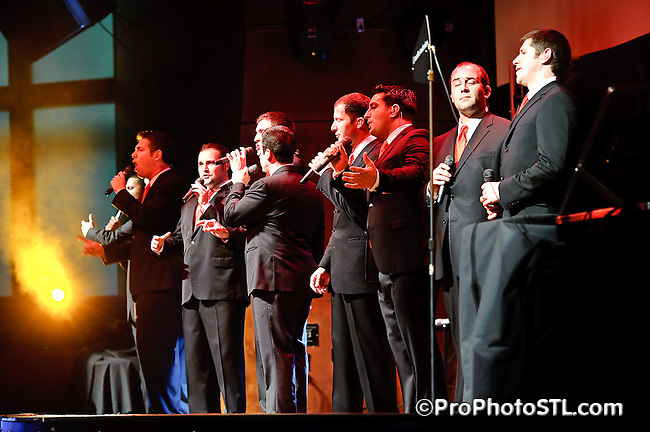 Straight No Chaser in concert at Voodoo lounge of Harrah's Casino in St. Louis, MO on Dec 15, 2009.