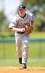 13 March 2007: Detroit Tigers infielder Kevin Hooper in the action against the Los Angeles Dodgers at Holman Stadium in Vero Beach, Florida.<br /> <br /> Mandatory Photo Credit: Ed Wolfstein Photo