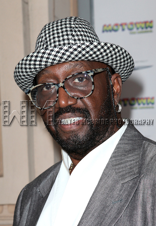 Otis Williams attending the Broadway World Premiere Launch for 'Motown: The Musical' at the Nederlander in New York. Sept. 27, 2012