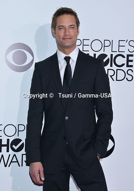 Josh Holloway 194 at the People Choice Awards 2014 at the Nokia Theatre in Los Angeles.