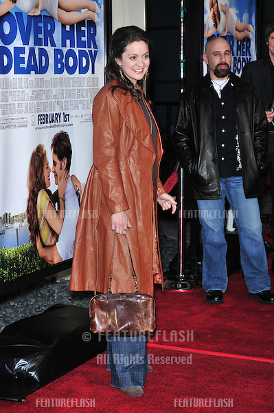 "Kali Rocha at the Los Angeles premiere of ""Over Her Dead Body"" at the Arclight Theatre, Hollywood..January 29, 2008  Los Angeles, CA.Picture: Paul Smith / Featureflash"