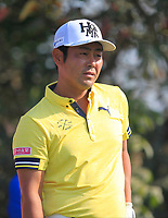 Hideto Tanihara (JPN) in action on the 4th during Round 4 of the Hero Indian Open at the DLF Golf and Country Club on Sunday 11th March 2018.<br /> Picture:  Thos Caffrey / www.golffile.ie<br /> <br /> All photo usage must carry mandatory copyright credit (&copy; Golffile | Thos Caffrey)