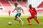 Niclas Fuellkrug (SV Werder Bremen) im Zweikampf mit Moussa Niakhate (FSV Mainz 05), <br /> <br /> Sport: Fussball: 1. Bundesliga:: nphgm001:  Saison 19/20: 33. Spieltag: 1. FSV Mainz 05 vs SV Werder Bremen 20.06.2020<br /> Foto: Neis/Eibner/Pool/via gumzmedia/nordphoto<br /><br />DFB regulations prohibit any use of photographs as image sequences and/or quasi-video.<br />Editorial Use ONLY<br />National and International News Agencies OUT<br />  DFL REGULATIONS PROHIBIT ANY USE OF PHOTOGRAPHS AS IMAGE SEQUENCES AND OR QUASI VIDEO<br /> EDITORIAL USE ONLY<br /> NATIONAL AND INTERNATIONAL NEWS AGENCIES OUT