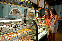 "Amelie's French Bakery in NoDa (North Davidson near downtown Charlotte) is popular for its ""Paris shabby-chic"" decor, fresh-baked French pastries and 24-hour operations."