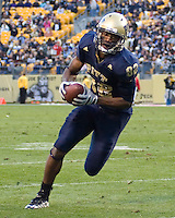 October 25, 2008: Pitt wide receiver Jonathan Baldwin. The Rutgers Scarlet Knights defeated the Pitt Panthers 54-34 on October 25, 2008 at Heinz Field, Pittsburgh, Pennsylvania.