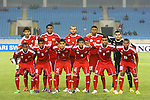 Uzbekistan vs Oman during the Olympic Qualifying 2012 Playoff group match on March 29, 2011 at the My Dinh National Stadium in <br /> Hanoi, Vietnam. Photo by World Sport Group