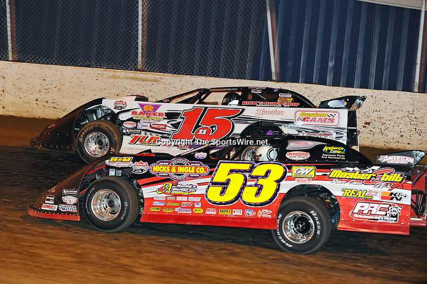 Aug 15, 2010; 12:31:01 AM; Union, KY., USA; The ìSunoco Race Fuels North/South 100î running a 50,000-to-win event presented by Lucas Oil at Florence Speedway in Union, KY. Mandatory Credit: (thesportswire.net)