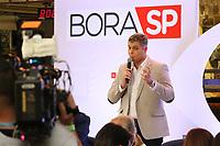 """São Paulo (SP), 31/07/2019 - Coletiva / Televisão / Bora SP - Joel Datena, Apresentador, durante coletiva de imprensa de apresentação do telejornal """"Bora SP"""", nesta quarta-feira, 31. (Foto: Charles Sholl/Brazil Photo Press/Agencia O Globo) São Paulo"""