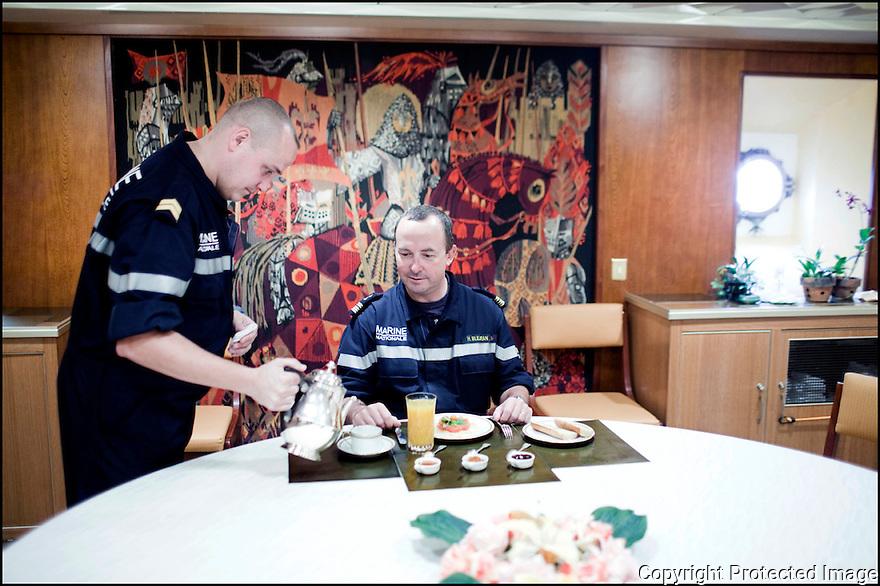 2009 / Appartement du Commandant<br /> Le petit d&eacute;jeuner