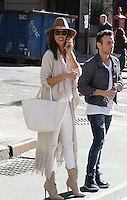 WWW.ACEPIXS.COM<br /> <br /> November 9 2015, New York City<br /> <br /> Model Alessandra Ambrosio arrives at Victoria's Secret head office in Midtown Manhattan for pre-show fittings on November 9 2015 in New York City<br /> <br /> By Line: Zelig Shaul/ACE Pictures<br /> <br /> <br /> ACE Pictures, Inc.<br /> tel: 646 769 0430<br /> Email: info@acepixs.com<br /> www.acepixs.com