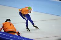 SCHAATSEN: HEERENVEEN: Thialf, World Cup, 03-12-11, 10000m A, Jorrit Bergsma NED, ©foto: Martin de Jong
