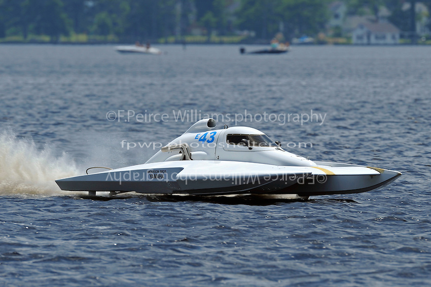 Jim Martin, E-43  (5 Litre class hydroplane(s)