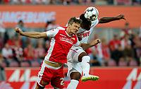 Michael Parensen, Jhon Cordoba /   /        /      <br /> /   2.Bundesliga  DFL /  2018/2019 / 13.08.2018 / 1.FC Koeln vs. 1.FC Union Berlin FCU /      <br />    <br /> DFL regulations prohibit any use of photographs as image sequences and/or quasi-video.<br />  *** Local Caption *** &copy; pixathlon<br /> Contact: +49-40-22 63 02 60 , info@pixathlon.de