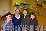 YOUTH CAFE: Clare Noonan, Aileen Brosnan, Gemma Hilario and Anne O'Connor in the newly opened KDYS youth centre in Killorglin.   Copyright Kerry's Eye 2008