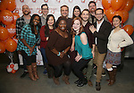 """The cast attend the 'Avenue Q"""" 13th Anniversary and 3,QQQ Performance with Bar Mitzvah Party at the New World Stages on January 12, 2017 in New York City."""