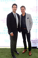 BEVERLY HILLS, CA - OCTOBER 7 : David Schwimmer, Eric McCormack, at The 2018 Rape Foundation Annual Brunch at Private Residence in Beverly Hills California on October 7, 2018. <br /> CAP/MPI/FS<br /> &copy;FS/MPI/Capital Pictures