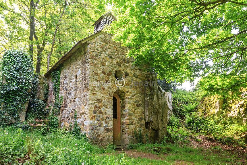 France, Manche (50), Mortain-Bocage, chapelle Saint-Vital // France, Manche, Mortain Bocage, Saint Vital chapel