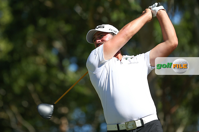 John Parry (ENG) produced a flawless round with three birdies coming on the front 9, the back 9 a par round, during Round Three of the Africa Open 2015 at the East London Golf Club, East London, Eastern Cape, South Africa. Picture:  David Lloyd / www.golffile.ie. 07/03/2015