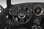 Car pictures of steering wheel view of a 2015 MINI Mini Cooper S 2 Door Convertible Steering Wheel