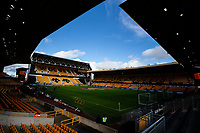 A general view of Molineux, home of Wolverhampton Wanderers<br /> <br /> Photographer Alex Dodd/CameraSport<br /> <br /> The Premier League - Wolverhampton Wanderers v Norwich City - Sunday 23rd February 2020 - Molineux - Wolverhampton<br /> <br /> World Copyright © 2020 CameraSport. All rights reserved. 43 Linden Ave. Countesthorpe. Leicester. England. LE8 5PG - Tel: +44 (0) 116 277 4147 - admin@camerasport.com - www.camerasport.com