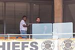 06.01.2019, FNB Stadion/Soccer City, Nasrec, Johannesburg, RSA, FSP, SV Werder Bremen (GER) vs Kaizer Chiefs (ZA)<br /> <br /> im Bild / picture shows <br /> eine beim Spiel eingesetzte Drohne (vermutlich der DFL) wird nach einem 1/4 der Spielzeit als defekt begutachtet, ein Propellerschaden f&uuml;hrte zur Besch&auml;digung der Aufh&auml;ngung / Gimbal der Kamera, <br /> <br /> Foto &copy; nordphoto / Ewert