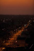 Vista da rua Mundurucus em direção a São Brás e Terra Firme.<br /> Belém, Pará, Brasil.<br /> Foto Paulo Santos<br /> 13/07/2014