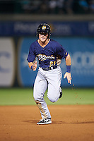 Burlington Bees right fielder Jared Walsh (21) running the bases during a game against the South Bend Cubs on July 22, 2016 at Four Winds Field in South Bend, Indiana.  South Bend defeated Burlington 4-3.  (Mike Janes/Four Seam Images)