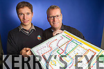 Sean O'Hara and John Loughry who produced the Kerry GAA Tube map.