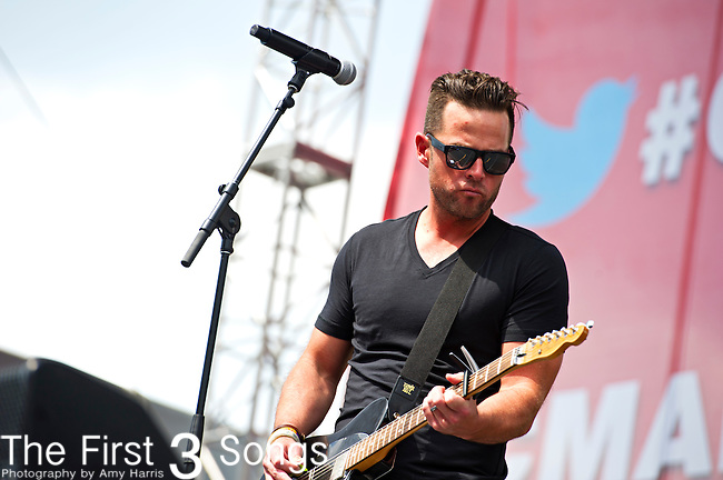 David Nail performs during Day 3 of the 2013 CMA Music Festival in Nashville, Tennessee.