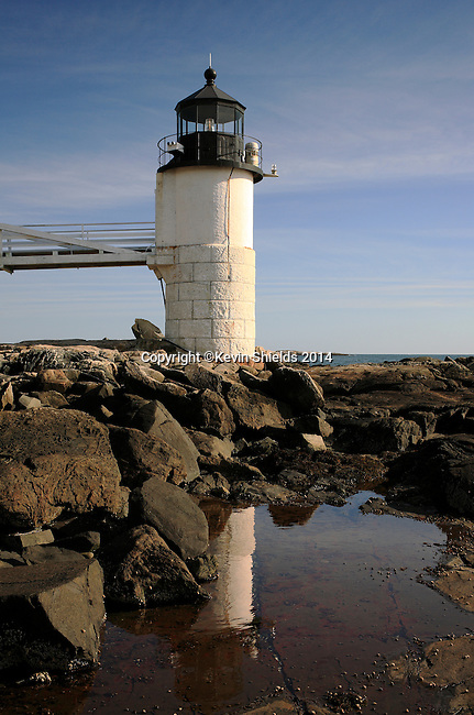 Marshall Point Lighthouse, Port Clyde, St. George, Maine, USA