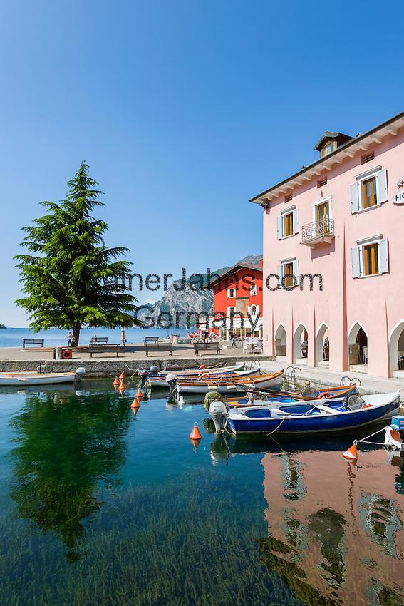 Italy, Trentino, Lake Garda, Torbole: Porto Vecchio | Italien, Trentino, Gardasee, Torbole: Porto Vecchio