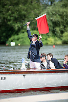 Henley Royal Regatta, Henley on Thames, Oxfordshire, 29 June-3 July 2015.  Thursday  11:04:58   30/06/2016  [Mandatory Credit/Intersport Images]<br /> <br /> Rowing, Henley Reach, Henley Royal Regatta.<br /> <br /> R C Stanhope, Esq. Umpire