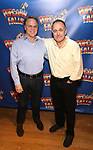Tom Southrada and Adam Heller attends the cast photo call for 'Popcorn Falls' at the Jerry Orbach Theatre on September 6, 2018 in New York City.