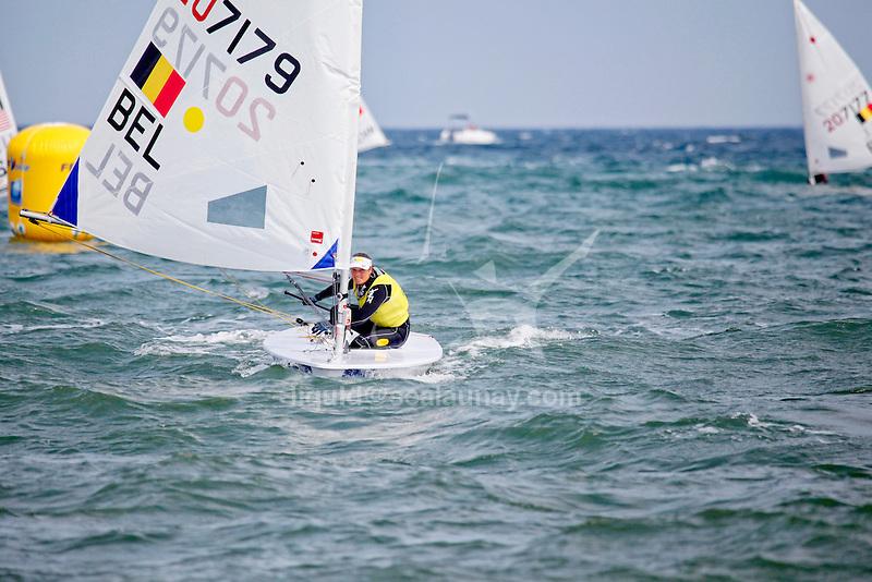 ISAF Sailing World Cup Hyères - Fédération Française de Voile. Laser Radial.