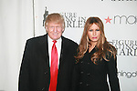 Donald and Melania Trump attend The 2011 Figure Skating in Harlem - Skating with the Stars Honoring Tina and Terry Lundgren, Sarah Hughes and Lola C. West at the Wollman Rink, NY 4/4/11