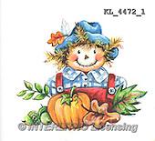 Interlitho, STILL LIFE STILLLEBEN, NATURALEZA MORTA, paintings+++++,KL4472/1,#i# stickers,halloween, scarecrow,