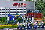 Escola técnica SENAI, na cidade de São Carlos. São Paulo. 2014. Foto de Juca Martins.