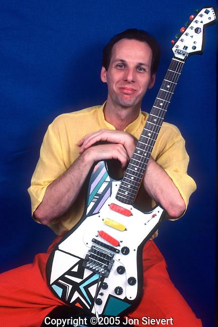 Adrian Belew, Sept 1983