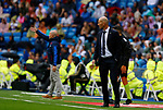 Real Madrid CF's Zinedine Zidane during La Liga match. Aug 24, 2019. (ALTERPHOTOS/Manu R.B.)