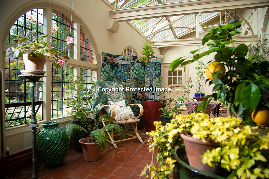 29/05/15<br /> <br /> The Conservatory<br /> <br /> Morris & Co. Inspired by Nature at Standen House and Garden, the National Trust's Arts and Craft House in East Grinstead, West Sussex delves in to the World of Morris & Co. Discover how repeating patterns of flowers and birds were chosen for the designs and the value that Morris placed on the revival of traditional skill. 1 Jun - 10 Nov 2019.<br /> <br /> All Rights Reserved: F Stop Press Ltd. +44(0)1335 418365   +44 (0)7765 242650 www.fstoppress.com