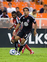 Dwayne De Rosario. D.C. United tied Toronto FC, 3-3, during the game at RFK Stadium in Washington, DC.